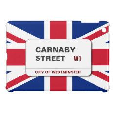 Swinging 60s Carnaby Street Ipad Mini Case at Zazzle