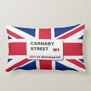 Swinging 60s Carnaby Street Lumbar Pillow at Zazzle