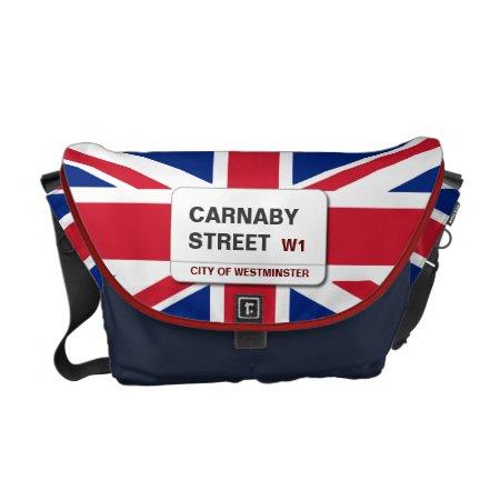 Swinging 60s Carnaby Street Medium Zero Messenger Bag