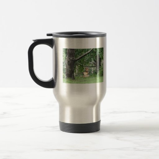 Swinging Angel Travel Mug
