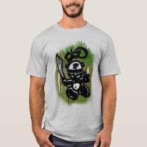 Swinging-Bamboo-Panda-Style T-Shirt