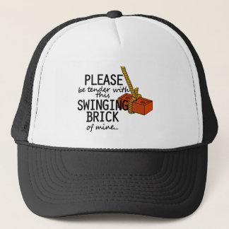 Swinging Brick Trucker Hat