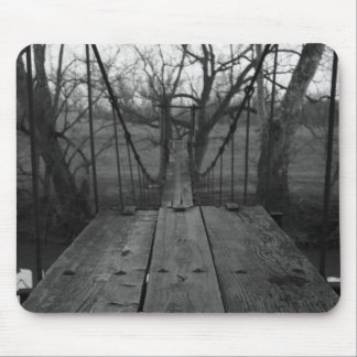 swinging bridge mouse pad