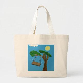 Swinging Free Jumbo Tote Bag