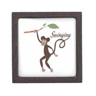 Swinging Premium Keepsake Box