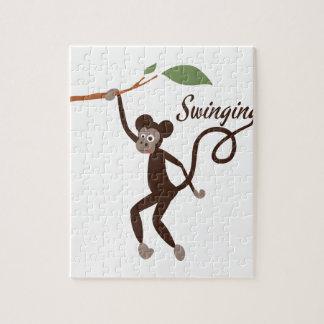 Swinging Jigsaw Puzzles