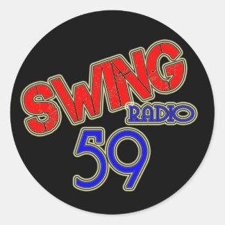 Swinging radio 59 stickers