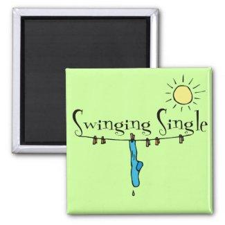 Swinging Single Singles Gear magnet