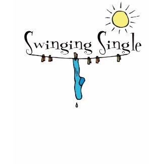 Swinging Single Singles T-shirt shirt