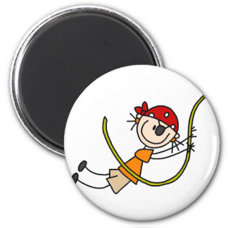 Swinging Stick Pirate Magnet
