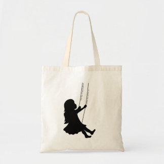 Swinging to the Clounds Tote Bag