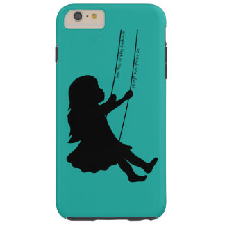 Swinging to the Clounds Tough iPhone 6 Plus Case