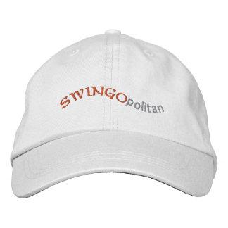 Swingopolitan Embroidered Baseball Caps