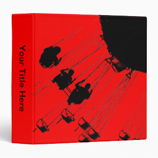 Swings and Roundabouts - Red 3 Ring Binder