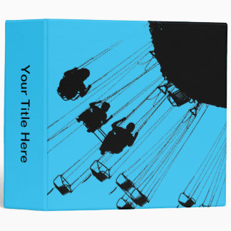 Swings and Roundabouts - Sky Blue Binder