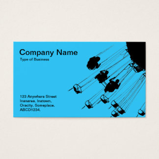 Swings and Roundabouts - Sky Blue Business Card