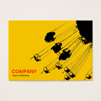 Swings and Roundabouts v3 - Amber Business Card