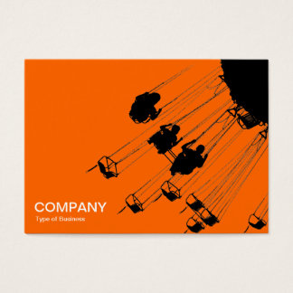 Swings and Roundabouts v3 - Orange Business Card