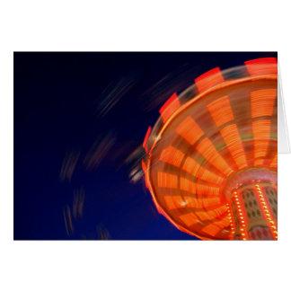Swings at the Fair Card