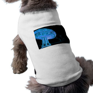 swings ride in blue fair midway carnival image doggie shirt