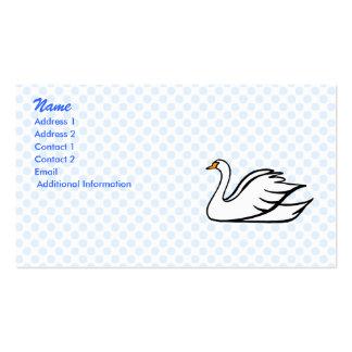 Swinkee Swan Business Card