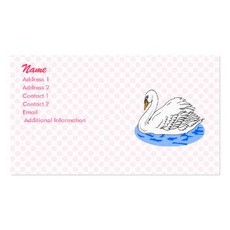 Swinkie Swan Business Card