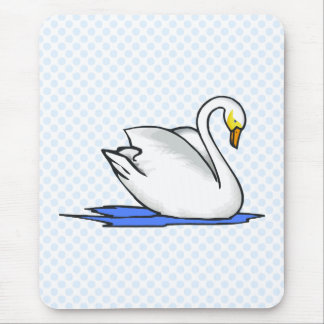 Swinna Swan Mouse Pad