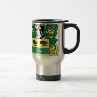 Swinney Coat of Arms 15 Oz Stainless Steel Travel Mug