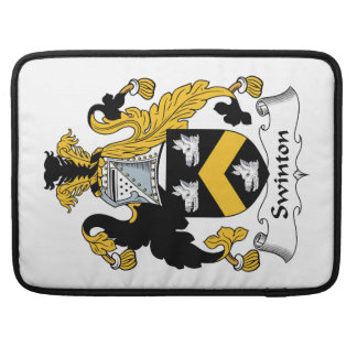 Swinton Family Crest Sleeve For MacBook Pro