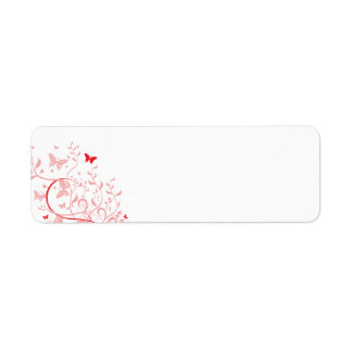 swirl10 BUTTERFLY FLORAL SWIRL RED PINKS ROSES GRA Label