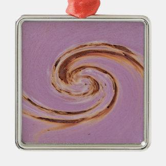 Swirl 01.04-Colors of Rust/Rost-Art Metal Ornament