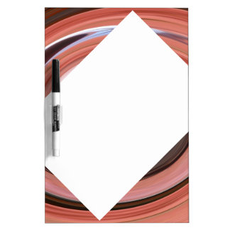 Swirl 01.06.2-Colors of Rust/Rost-Art Dry Erase Board