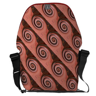 Swirl 01.06-Colors of Rust/Rost-Art Courier Bag