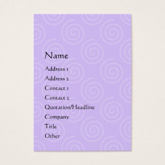Swirl Attraction Chubby Profile Card