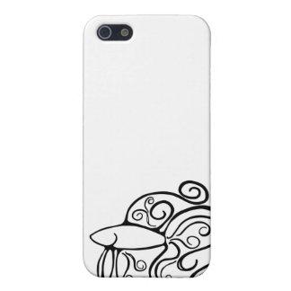 Swirl Betta Fish iPhone SE/5/5s Case