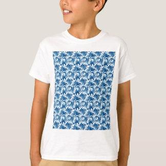 swirl blue colored design T-Shirt