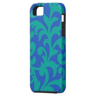 Swirl Blue Green Case-Mate iPhone 5 Case
