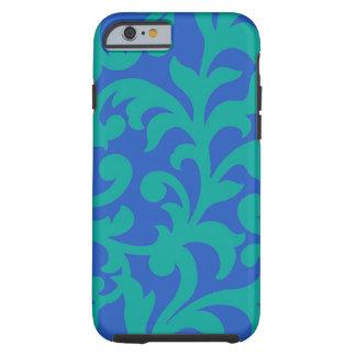 Swirl Blue Green iPhone 6 case