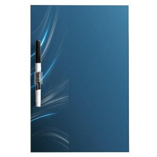 Swirl Blues Dry-Erase Board