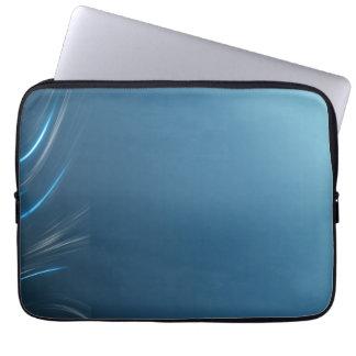 Swirl Blues Laptop Sleeve