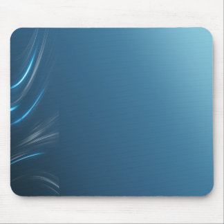 Swirl Blues Mouse Pad