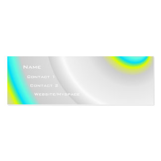 Swirl Double-Sided Mini Business Cards (Pack Of 20)