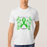Swirl Butterfly Bone Marrow Donor Tshirt