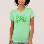 Swirl Butterfly Bone Marrow Transplant Survivor Shirt