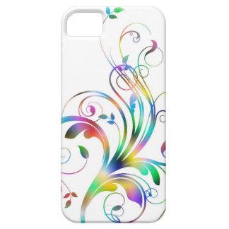 Swirl, Coloeful Decoration iPhone SE/5/5s Case