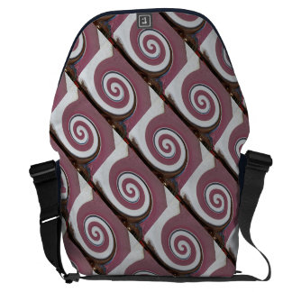 Swirl - Colors of Rust/Rost-Art Courier Bag
