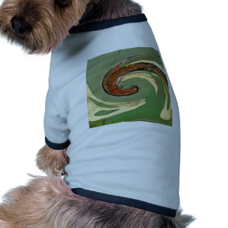 Swirl - Colors of Rust/Rost-Art Dog Tee