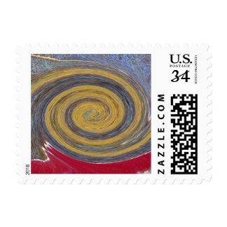 Swirl - Colors of Rust / Rost-Art Stamp