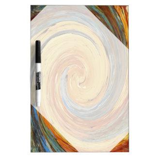 Swirl - Colors of Rust/Rostart Dry-Erase Board