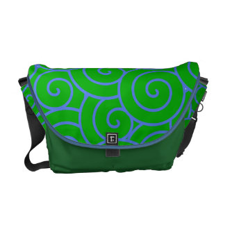 Swirl Courier Bag